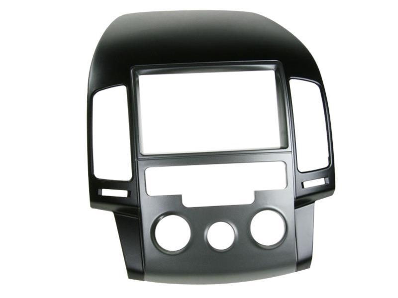 2 din rb hyundai i30 2008 manuelle klimaanlage schwarz. Black Bedroom Furniture Sets. Home Design Ideas