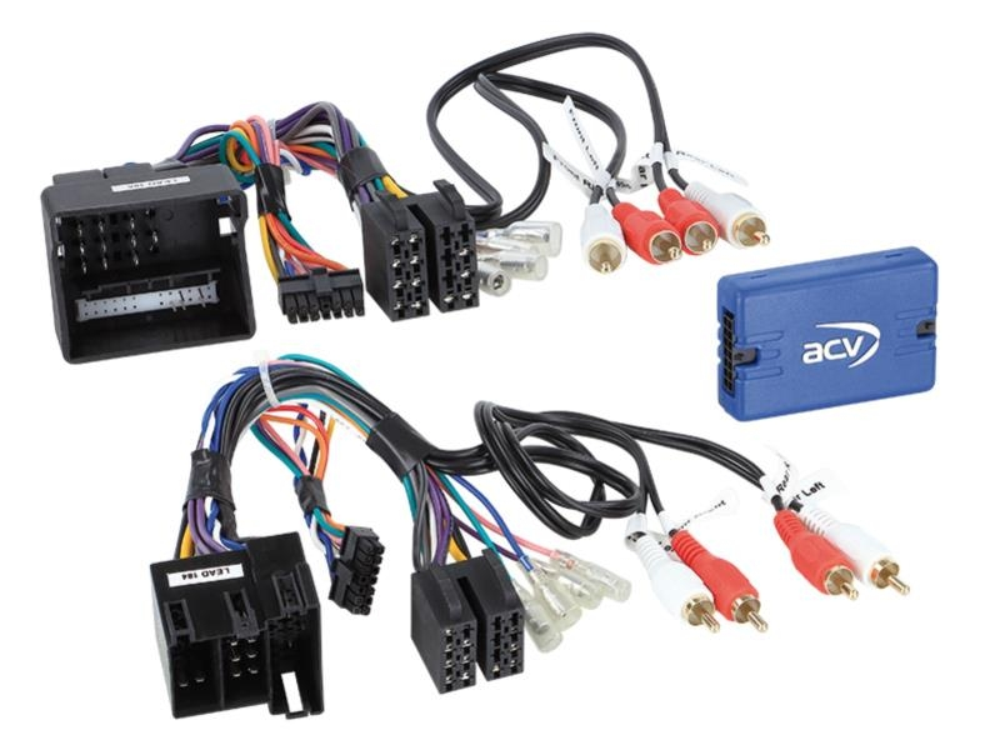 ALPINE CAN-BUS Lenkradfernbedienungs Interface inklusive FAKRA Antennen ...