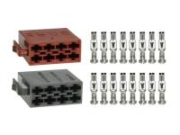 25-teilig Montageset Quadlock Zusatzstecker 24 polig