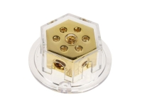 Verteilerblock (gold) 2 x 50 mm²...