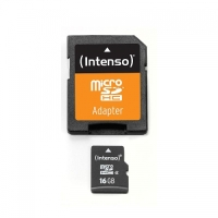 INTENSO MICROSD KARTE 16GB SD-ADAPTER